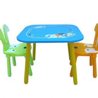 K00600 Doggy Table And 2 Chair